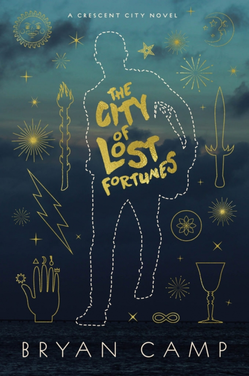 Couverture Crescent City, book 1: The City of Lost Fortunes