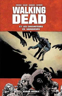 Couverture Walking Dead, tomes 27 et 28 : Les chuchoteurs suivi de Vainqueurs