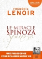 Couverture Le miracle Spinoza Editions Audiolib 2018