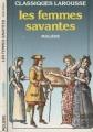 Couverture Les Femmes savantes Editions Larousse 1999