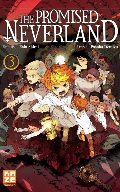 Couverture The Promised Neverland, tome 03