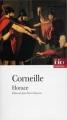 Couverture Horace Editions Folio  (Théâtre) 1994