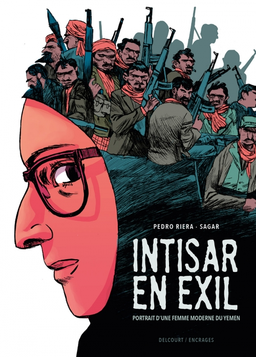 Couverture Intisar en exil