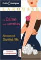 Couverture La Dame aux camélias Editions Larousse (Petits classiques) 2018
