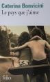 Couverture Le pays que j'aime Editions Folio  2018