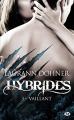 Couverture Hybrides, tome 3 : Vaillant Editions Milady (Bit-lit) 2018