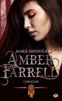 Couverture Amber Farrell, tome 0 : L'origine
