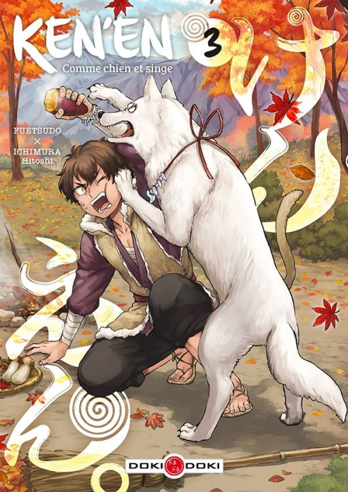 Couverture Ken'en : Comme chien et singe, tome 3