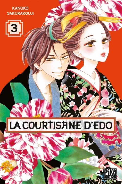Couverture La courtisane d'Edo, tome 3