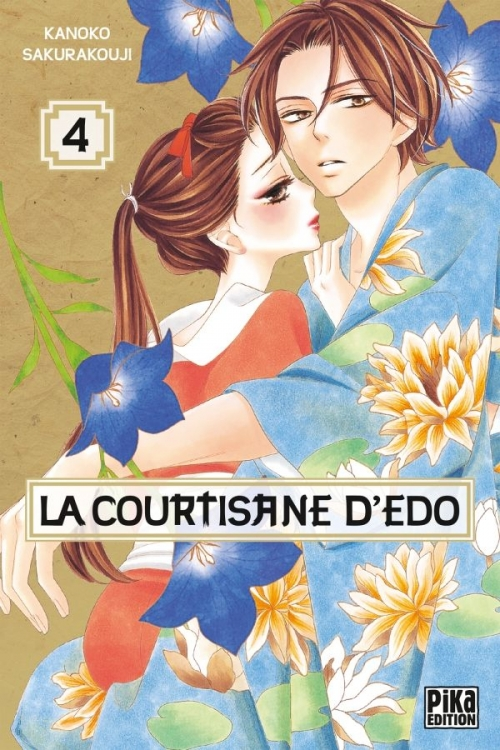 Couverture La courtisane d'Edo, tome 4