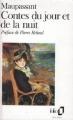 Couverture Contes du jour et de la nuit Editions Folio  1992