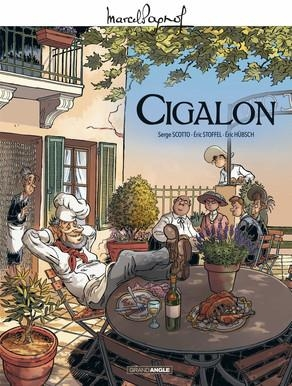 Couverture Cigalon (BD)