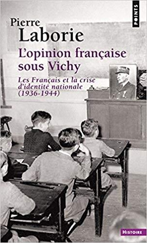 Couverture L'Opinion française sous Vichy