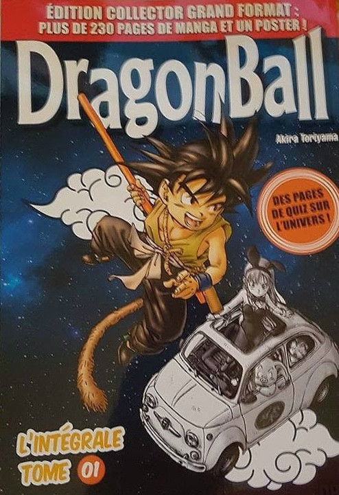 Couverture Dragon Ball (Grand format), tome 1