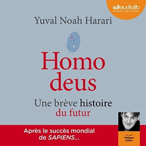 Couverture Homo deus : Une brève histoire de l'avenir