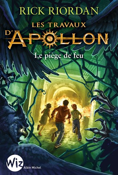 Couverture Les travaux d'Apollon, tome 3 : Le piège de feu