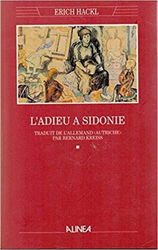 Couverture L'adieu à Sidonie