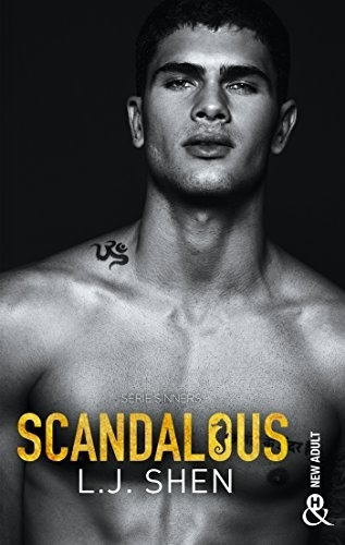 Couverture Sinners, tome 3 : Scandalous