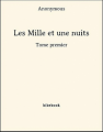 Couverture Les mille et une nuits, tome 1 Editions Bibebook 2013