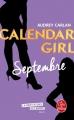 Couverture Calendar girl, tome 09 : Septembre Editions Le Livre de Poche 2018