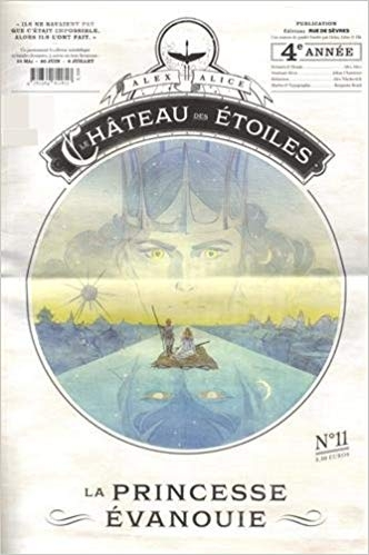 Couverture Le château des étoiles (revues), tome 11 : La princesse évanouie