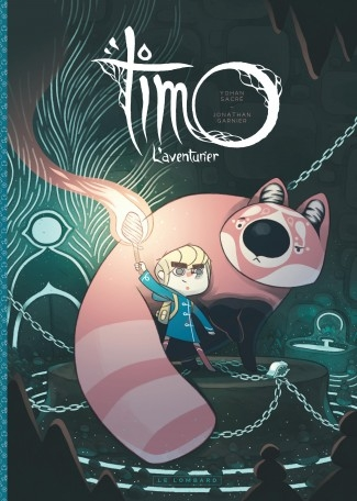 Couverture Timo l'aventurier, tome 1