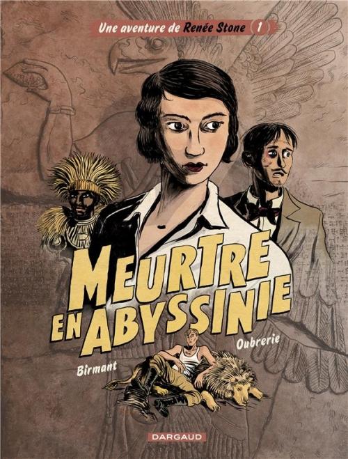 Couverture Renée Stone, tome 1 : Meurtre en Abyssinie