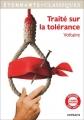 Couverture Traité sur la tolérance Editions Flammarion (GF - Etonnants classiques) 2016