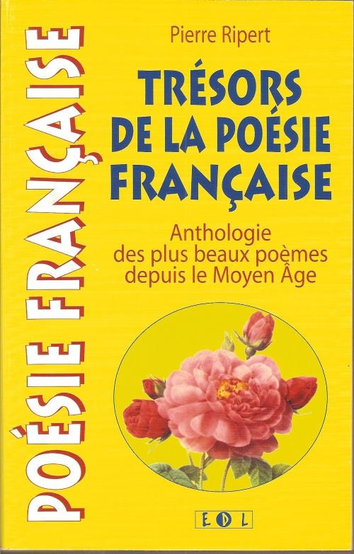Couverture Dictionnaire anthologique de la poésie française /  Trésors de la poésie française