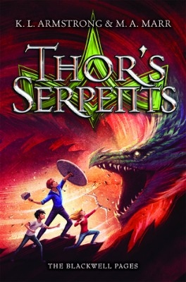 Couverture The Blackwell pages : Thor's serpents