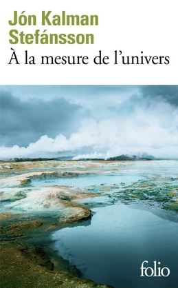 Couverture A la mesure de l'univers