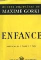 Couverture Enfance Editions Les Éditeurs Français Réunis 1959