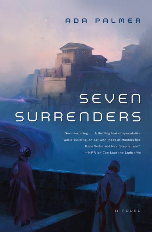Couverture Terra Ignota, book 2: Seven Surrenders