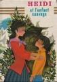 Couverture Heidi et l'enfant sauvage Editions Hemma (Livre club jeunesse) 1967