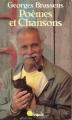 Couverture Poèmes et chansons Editions Points (Virgule) 1991
