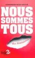 Couverture Nous sommes tous des féministes Editions Gallimard  2015