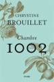 Couverture Chambre 1002 Editions Druide 2018