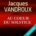 Couverture Au coeur du solstice Editions Audible studios 2017