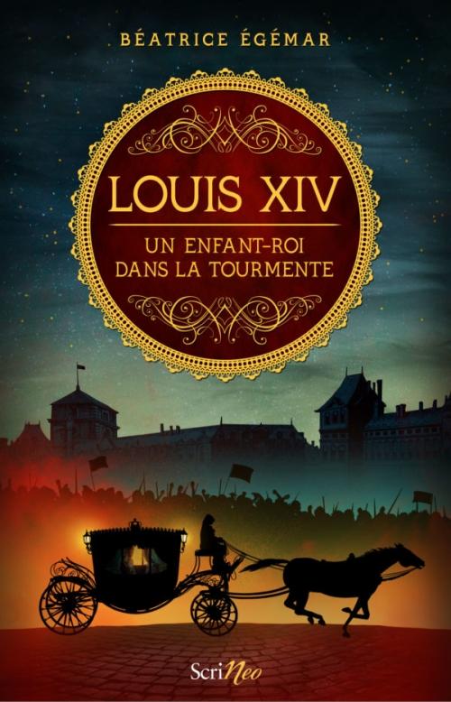 Couverture Louis XIV, un enfant-roi dans la tourmente