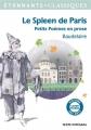 Couverture Le spleen de Paris / Petits poèmes en prose Editions Flammarion (GF - Etonnants classiques) 2016