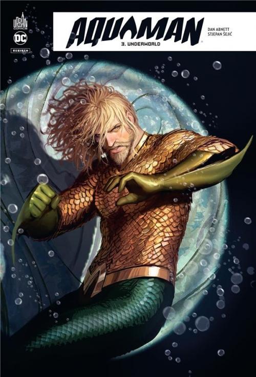 Couverture Aquaman Rebirth, tome 3 : Underworld