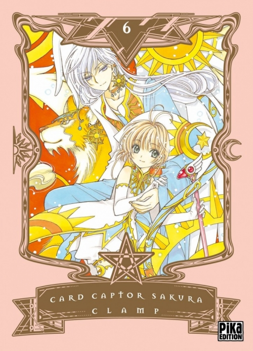 Couverture Card Captor Sakura, deluxe, tome 6