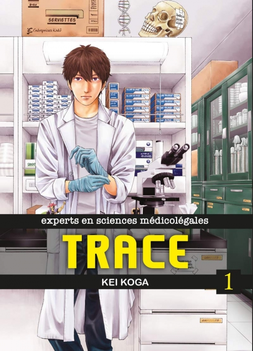 Couverture Trace, tome 1