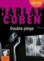 Couverture Double piège Editions Audiolib 2017