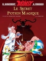 Couverture Le secret de la potion magique Editions Albert René 2018