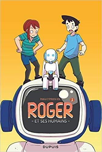 Couverture Roger et ses humains, tome 2