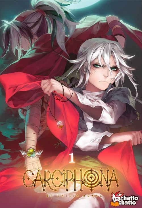 Couverture Carciphona, tome 1