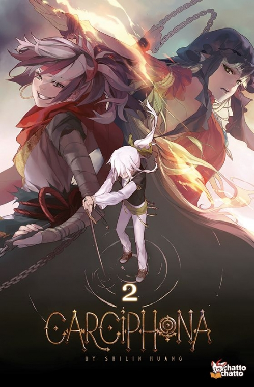 Couverture Carciphona, tome 2