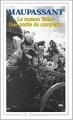 Couverture La maison Tellier, Une partie de campagne et autres nouvelles Editions Garnier Flammarion 1980