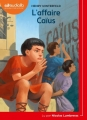 Couverture L'affaire Caïus Editions Audiolib 2018